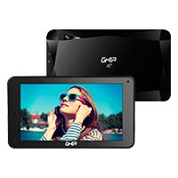 TABLET GHIA A7 WIFI/QUADCORE/A50/WIFI/BT/1GB16GB/0.3MP2MP/2000MAH/ANDROID 8,1 GO/NEGRA