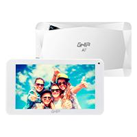 TABLET GHIA A7 WIFI/QUADCORE/A50/WIFI/BT/1GB16GB/0.3MP2MP/2000MAH/ANDROID 8,1 GO/BLANCA