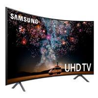 TELEVISION LED SAMSUNG 55 SMART TV SERIE RU7300, UHD 4K 3,840 X 2,160, 3 HDMI, 2 USB CURVA