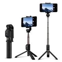 SELFIE STICK AF15 HUAWEI,INALAMBRICO CON TRIPODE INCLUIDO, COLOR NEGRO