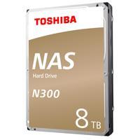 DD INTERNO TOSHIBA N300 3.5 8TB//SATA3//6GB/S//CACHE 256MB//7200 RPM//24X7 P/NAS/1-8 BAHIAS//EMPAQUE RETAIL