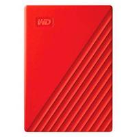 DISCO DURO EXTERNOERNO PORTATIL 2TB WD MY PASSPORT ROJO 2.5/USB3.0/COPIA LOCAL/ENCRIPTACION/WIN