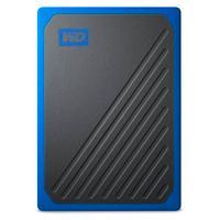 UNIDAD DE ESTADO SOLIDO SSD EXTERNO WD PORTATIL 1TB MY PASSPORT GO NEGRO COBALTO/USB 3.0 COPIA LOCAL/ENCRIPTACION/WIN-MAC