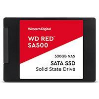 UNIDAD DE ESTADO SOLIDO SSD WD RED SA500 2.5 500GB SATA3 6GB/S 7MM LECT 560MB/S ESCRIT 530MB/S