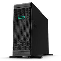 HPE PROLIANT ML350 GEN10 TOWER INTEL XEON-S 4210 10-CORE (2.20GHZ 14MB) 16GB (1 X 16GB)  DDR4 RDIMM 8 X HOT PLUG 2.5IN SFF SMART ARRAY P408I-A SR 800W
