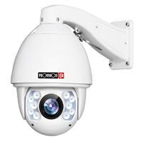 CAMARA PROVISION ISR, PTZ DOMO IP 2 MP 1080P, IR 150 MTS, ZOOM ÓPTICO 30X, ONVIF, CON FUENTE DE PODER.