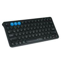 TECLADO MULTIDISPOSITIVO SWITCH/ACTECK/ BLUETOOTH SLIM BATERIA RECARGABLE/NEGRO/AC-926577