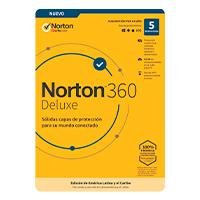 NORTON 360 DELUXE / TOTAL SECURITY/ 5 DISPOSITIVOS/ 1 AÑO