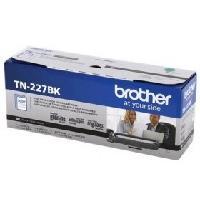 TONER BROTHER TN227BK NEGRO COMPATIBLE CON MFCL3710CW ALTO RENDIMIENTO HASTA 3,000 PAGINAS