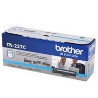 TONER BROTHER TN227C CIAN COMPATIBLE CON MFCL3710CW ALTO RENDIMIENTO HASTA 2,300 PAGINAS