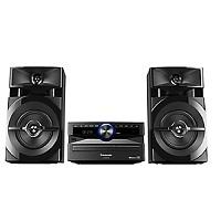 MINI COMPONENTE PANASONIC AKX100, 3300W PMPO, 300W RMS, BLUETOOTH, CD, MP3, USB, FM
