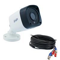 CAMARA GHIA TIPO BALA 1080P 4 EN 1 AHD/TVI/CVI/CVBS/ 2MP/LENTE DE 3.6MM/ IR 25MTS USO EXTERIOR CON CABLE 18 METROS