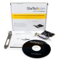 ADAPTADOR TARJETA PCI-EXPRESS PERFIL BAJO PARALELO DE 1 PUERTO DB25 IEEE1284 - SPP EPP ECP - STARTECH.COM MOD. PEX1PLP