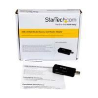 LECTOR USB 3.0 SUPER SPEED COMPACTO DE TARJETAS DE MEMORIA FLASH SD MICROSD SDHC SDXC MMC MEMORY STICK CARD READER PC MAC - STARTECH.COM MOD. FCREADMICRO3