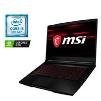PORTATIL GAMER MSI CORE I5 9300H 2.4 - 4.1GHZ/8GB DDR4/1TB HDD 256 SSD/15.6 FHD-120HZ/NVIDIA GTX1650TI MAX-Q 4GB/WIN 10 HOME