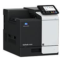 IMPRESORAS LASER A COLOR KONICA MINOLTA MODELO C4000I 42 PPM, MEMORIA 4GB, DISCO DURO 8GB, RESOLUCION 1200X 1200 PPP, DUPLEX, INTERFACE ESTANDAR USB 2.0 Y GIGABIT ETHERNET 10/100/1000,