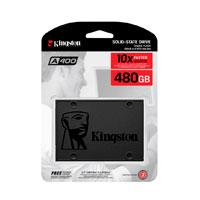 UNIDAD DE ESTADO SOLIDO SSD KINGSTON A400 480GB 2.5 SATA3 7MM LECT.500/ESCR.450MBS