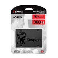 UNIDAD DE ESTADO SOLIDO SSD KINGSTON A400 960GB 2.5 SATA3 7MM LECT.500/ESCR.450MBS