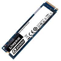 UNIDAD DE ESTADO SOLIDO SSD KINGSTON SA2000M8 500GB M.2 NVME PCIE LECT. 2200 /ESCR. 2000 MB/S