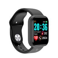 SMARTWATCH HEARTY SPORTS MONITOR PERFECT CHOICE NEGRO