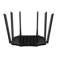 ROUTER AC21 AC2100 802.11 AC/B/G/N DUAL-BAND 6 ANTENAS EXTERNAS MU-MIMO + BEAMFORMING, IPV6, IPTV, 4 PUERTOS GIGABIT , UNIFICA SEÑALES 2.4 GHZ Y 5 GHZ, (1 WAN/ 3 LAN)
