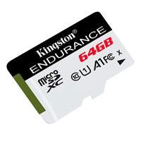 MEMORIA KINGSTON MICRO SD HIGH ENDURENCE 64GB UHS-I CLASE 10 P/ VIDEOVIGILANCIA