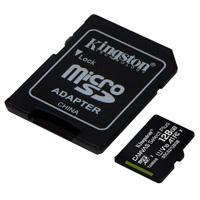 MEMORIA KINGSTON MICRO SD CANVAS SELECT PLUS 128GB UHS-I CLASE 10 C/ADAPTADOR