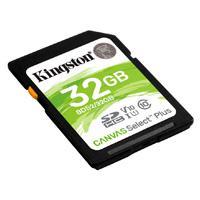 MEMORIA KINGSTON SDXC CANVAS SELECT PLUS 32GB UHS-I CLASE 10