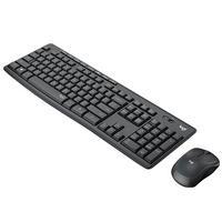 TECLADO/MOUSE LOGITECH MK295 SILENCIOSO NEGRO INALAMBRICOS USB PARA PC/CHROME OS