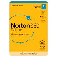 NORTON 360 DELUXE / TOTAL SECURITY 3 DISPOSITIVO 1 AñO (CAJA)