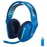 AUDIFONOS GAMING TIPO DIADEMA LOGITECH G733 LIGHTSPEED BLUE INALAMBRICO USB 1MS RECARGABLE 29HRS DE USO 20 METROS 7.1 CANALES MICROFONO BLUE VOICE RGB LIGHTSYNC