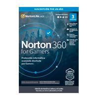 ESD NORTON 360 FOR GAMERS / TOTAL SECURITY/ 3 DISPOSITIVOS/ 1 AÑO/ DESCARGA DIGITAL