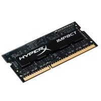 MEMORIA KINGSTON SODIMM DDR4 8GB 2666MHZ HYPERX IMPACT BLACK CL15 260PIN 1.2V