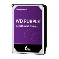 DD INTERNO WD PURPLE 3.5 6TB SATA3 6GB/S 128MB 24X7 PARA DVR Y NVR DE 1-16 BAHIAS Y 1-64 CAMARAS