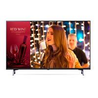 TELEVISION SUPER SIGN PARA SEÑALIZACION DIGITAL LG; 43 UHD, HDR 10, 300 NITS 16/7, WI-FI BUILT IN; HDMI (X2) USB, RF, RS-232, RJ45, BOCINA 10 W (X2)