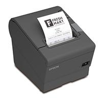 MINIPRINTER EPSON TM-T88V-084, TERMICA, 80 MM O 58 MM, SERIAL, USB, RECIBO, NEGRA
