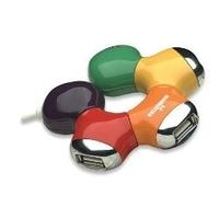 HUB USB V2.0 4 PUERTOS MANHATTAN MULTICOLOR MANHATTAN 161053