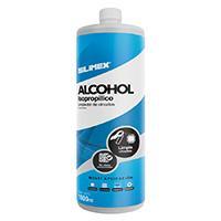 ALCOHOL ISOPROPILICO ENVASE DE 1 LT SILIMEX SILIMEX 1 LITRO ISOPROP�LICO