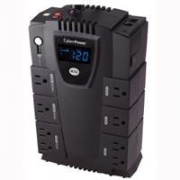 NO BREAK / UPS CYBERPOWER LCD INTELIGENTE 600 VA 340 WATTS 3 AÑOS DE GARANTIA EN PILA Y EQUIPO