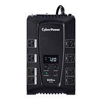 NO BREAK  /  UPS  CYBERPOWER LCD INTELIGENTE 825 VA 450 WATTS 3 AÑOS DE GARANTIA EN PILA Y EQUIPO CY