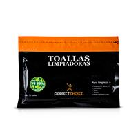 TOALLAS LIMPIADORAS PERFECT CHOICE ANTIESTETICAS PARA PANTALLAS  PERFECT CHOICE PC-030270