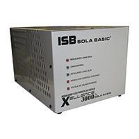 REGULADOR ELECTRONICO DE VOLTAJE SOLA BASIC ISB XELLENCE3000 2 FASES 220 VCA.