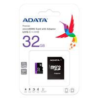 MEMORIA ADATA MICRO SDHC UHS-I 32GB CLASE 10 C / ADAPTADOR ADATA AUSDH32GUICL10-RA1