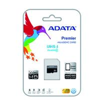 MEMORIA ADATA MICRO SDHC UHS-I 64GB CLASE 10 C / ADAPTADOR ADATA AUSDX64GUICL10-RA1