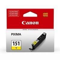 CARTUCHO CANON CLI-151Y AMARILLO PARA IX6810/ IP7210 , MG5410/MG6310, MG6410, MG6610, MG7110, MG7510, MX721, MX921,
