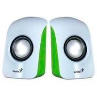 BOCINAS GENIUS SP-U115 1.5 WATTS USB VERDE/BLANCO