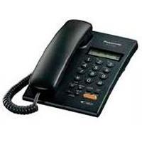 TELEFONO PANASONIC KX-T7705 ANALOGO CON IDENTIFICADOR DE LLAMADAS Y ALTAVOZ (NEGRO) PANASONIC KX-T77