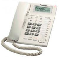 TELEFONO PANASONIC KX-T7716 UNILINEA CON IDENTIFICADOR DE LLAMADAS Y BOTONES PROGRAMABLES (BLANCO) P
