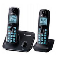 TELEFONO INALAMBRICO DECT 6.0, BASE + HANDSET, LCD (1.8 ILUMINACION COLOR AZUL), CALLER ID PANASONIC