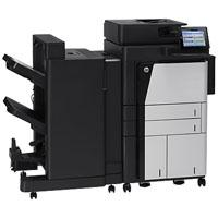 MULTIFUNCIONAL  MONOCROMATICO HP LASERJET  ENTERPRISE FLOW M830Z, 56 PPM, DUPLEX, RED, DOBLE CARTA